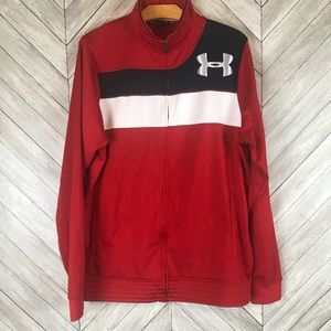 Under Armour Zipper Track a Jacket Large